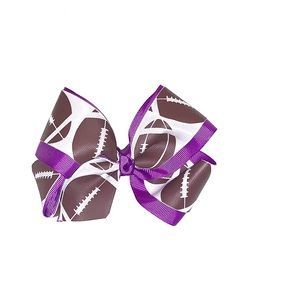 Other - Purple Football 🏈 Hairbow